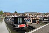 Narrowboats at Stratford upon Avon — Photo