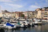 Cannes cityscape — Stock Photo