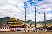 Samye monastery  — Stock Photo