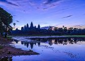 Angkor Wat in sunrise — Stock Photo