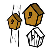Birdhouse — Stock Vector