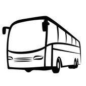 Buss symbolen — Stockvektor