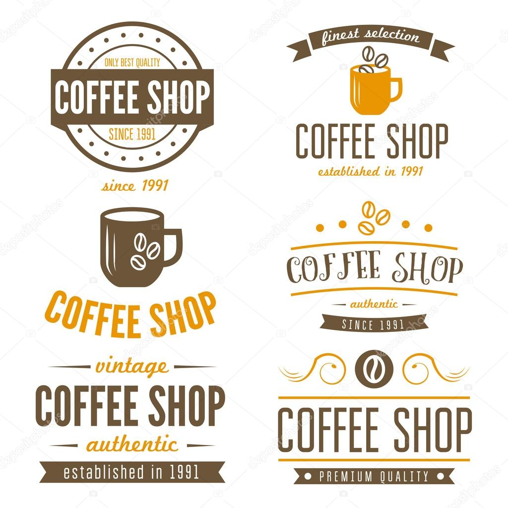 Set of vintage labels emblems and logo templates for for Classic house labels