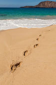 Footsteps — Stock Photo