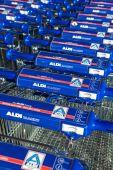 Aldi market — Foto de Stock