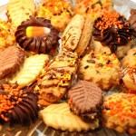 Thanksgiving Cookie Platter — Stock Photo