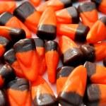 kukurydzy cukierka pomarańczowy i brązowy — Zdjęcie stockowe #55066751