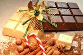 Holiday  Baking Chocolate — Stockfoto