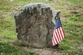 Revolutionary War Hero Grave Site — Stock Photo