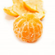 A Whole Peeled Tangerine Ready to Eat — Stock Photo #58651649