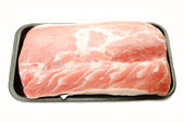 Whole Lean Pork Roast On a Butcher Package — Stock Photo
