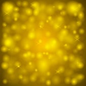 Golden Lights Background — Stock Vector