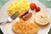Nutritional Breakfast — Stock Photo