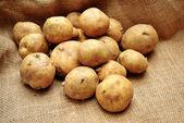 Raw Fresh Whole Potatoes — Stock Photo