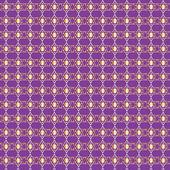 Golden Star of David Seamless Background Pattern — Stock Vector
