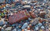 Pile of debris, — Stock Photo