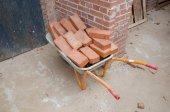 Stara konstrukcja koszyka — Zdjęcie stockowe