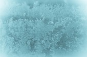 Winter abstract frost pattern  — Stock Photo
