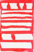 Red painted striped background  — Stock Photo