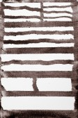 Brown painted striped background  — Stock Photo