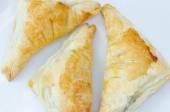 Puff pastry — Stock Photo