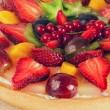 Pie with fruits and berries — Stock Photo #72303657