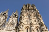 The cathedral of Rouen in Normandy — Stock fotografie