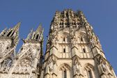 The cathedral of Rouen in Normandy — Zdjęcie stockowe