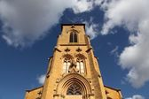Church of Theize in Beaujolais, France — Stock Photo