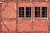 Facade in the old town of Aarhus, Denmark — Stock Photo