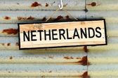 Netherlands sign — Stock Photo
