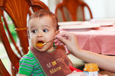 Hungry baby — Stock Photo