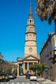 Historic Charleston — Stockfoto