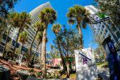 Brickell Flatiron — Stock Photo