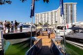 Miami International Boat Show — Stockfoto