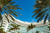 Fontainebleau Hotel — Stock Photo