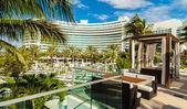 Fontainebleau Hotel — Zdjęcie stockowe