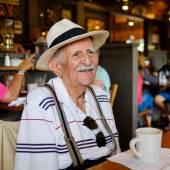 Пожилой человек — Стоковое фото