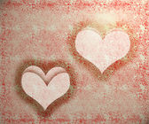 Valentine hearts background — Zdjęcie stockowe