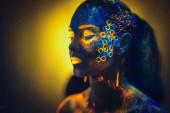 Neon Photo — Stockfoto