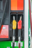 Self service FUEL Pump in oil station — Photo
