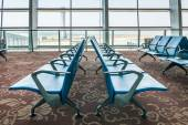 Departure lounge at the airport — Stock Photo