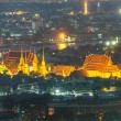 Wat Pho temple at twilight, Bangkok, Thailand — Stock Photo #52700905