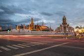 Tempel des smaragd-buddha.(wat phra kaew.) bangkok, thailand. — Stockfoto