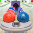 Close-up view of bowling balls — Stock Photo #55022505