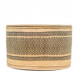 Basket made from bamboo on a white background with clipping path — Stock Photo #56104185
