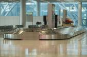 Baggage claim area in airport — Stock Photo