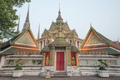 Wat Pho or Wat Phra Chetuphon,the Temple of the Reclining Buddha — Stock Photo