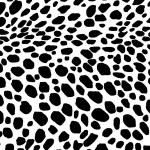 Dalmatian dog seamless pattern. Or cow skin texture. — Stock Photo #67769367