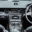 Interior of a modern automobile showing the dashboard — Stock Photo #70448841